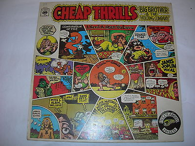 Big Brother and the Holding Company - Cheap Thrills - Original UK Vinyl LP A1/B2