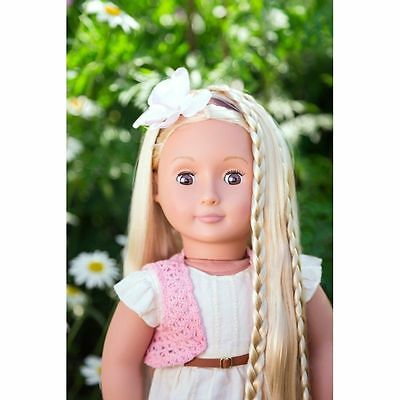 New Our Generation Hair Play Doll Phoebe  45cm
