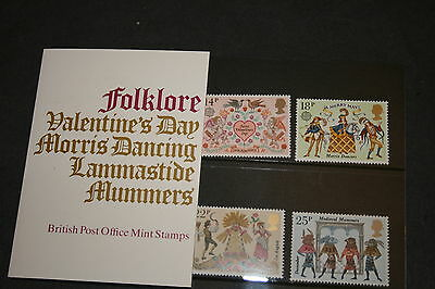 1981 Folklore Royal Mail Presentation Pack 124