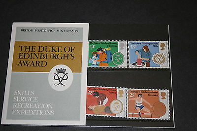 1981 Duke of Edinburgh Award Stamps in Presentation Pack 128