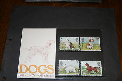 1979 Dogs- Presentation Pack no 106