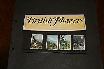 GB 1979 Presentation Pack no 107  Spring Wild Flowers