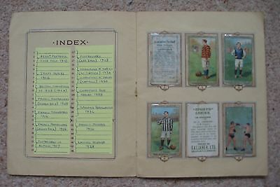 Gallaher 48 sport cards from 14 sets 1910-1938 mounted in standard album