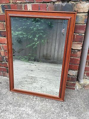 Large antique Wooden mirror. Quality Collectable.