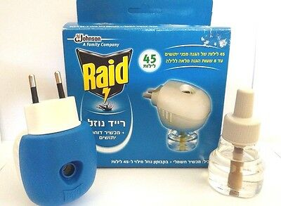 Mosquito repellent Raid Electric 1 bottle Mosquito Protector 45 nights 8 hours
