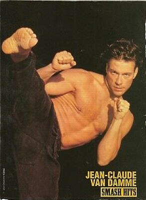 Jean-Claude van Damme Vintage Import Magazine Poster Clipping Movie Muscle 22