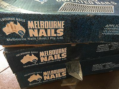 3 Boxes Collated Nails 50Mm X 2.80mm and 88mm X 3.2mm