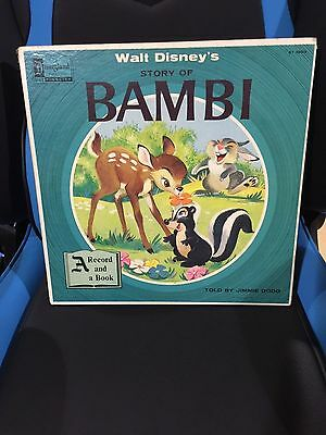 Walt Disney's Story of Bambi A Record and a Book