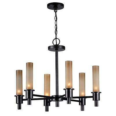 World Imports Dunwoody 6-Light Oil-Rubbed Bronze Chandelier WI687388