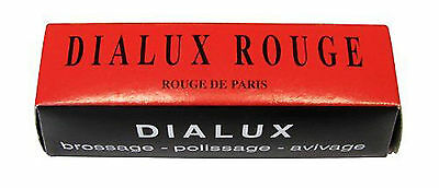 Dialux Red Polishing Wax Paste Polish (€9,40/100Gramm) 4590.085 New