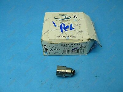 "Legris 3014 53 11 Push-in Female Connector 1/8"" Tube x 1/8"" NPT Female Nylon/NPB"