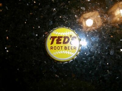 Moxie Co. Teds Root Beer Bottle Cap NOS  Bought From Frank N. Potter In 1984