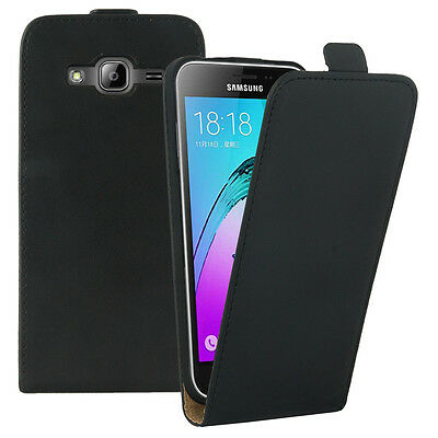 Etui Cuir PU Samsung Galaxy J3 (2016) J320F/ J320P/ J3109/ J320M/ J320Y/ Duos
