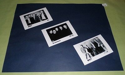 "Blues Band Set of 6""x4""Inch Photos x3 Collectable Pop Memorabilia Prints J404"