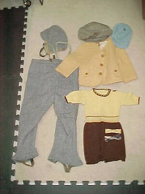 Lot Of Vintage Children's Clothes Clothing - Mostly Wool
