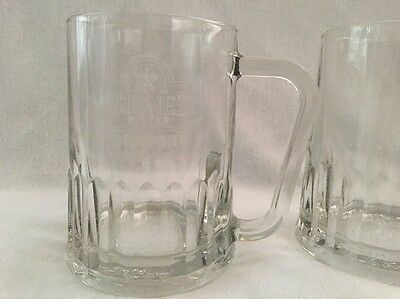 Stones Bitter Draught Pint Beer Glass. Made In England Collectible. Pair