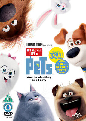 The Secret Life of Pets DVD (2016) Chris Renaud cert U FREE Shipping, Save £s