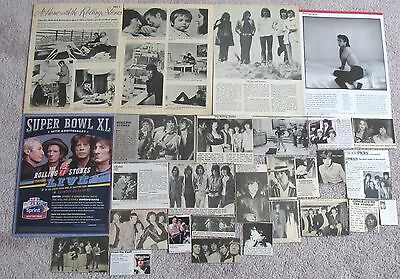 Mick Jagger, Keith Richards & the Rolling Stones Magazine Clippings