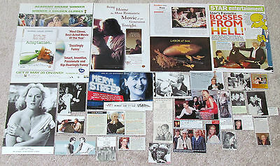 Meryl Streep (Devil Wears Prada; Out of Africa) Magazine Clippings