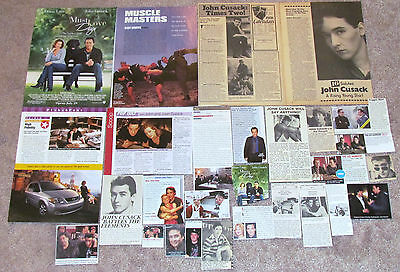 John Cusack (Say Anything; The Sure Thing) Magazine Clippings