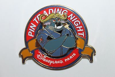 Pin Pins Disney Paris - Chief Bogo From Zootopia - Sold Out - New !! Le 400 Ptn