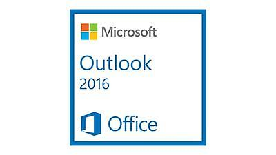 Microsoft Outlook 2016 for 1PC Product License