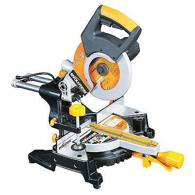 Evolution Rage3S 210mm Sliding Mitre Saw 110V