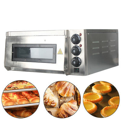 "Commercial Countertop 14"" Pizza and Baking Oven Cooking Machine  US Stock"