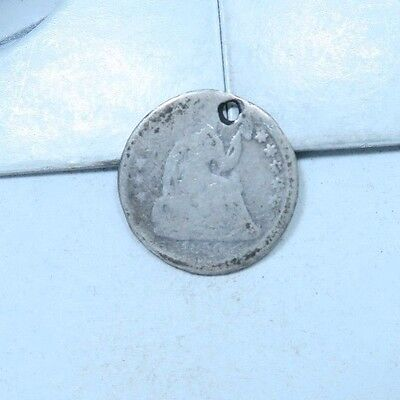 1856 Seated Liberty Half Dime // LOW MINTAGE! // 90% Silver (XHD333)