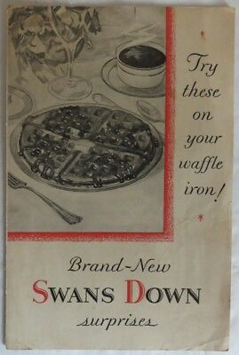 Vintage Swans Down Cake Flour Recipe Booklet               (Inv12776)