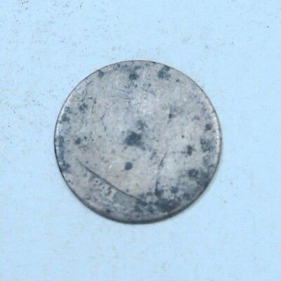 1841 Seated Liberty Dime // AG // 90% Silver (SD401)