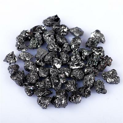 5.09 Cts Natural African Mines Black Diamond Rough Minerals Wholesale Lot