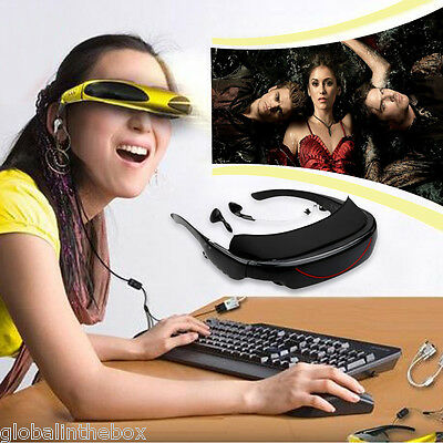 72 Inch Virtual Video Glasses Theater Widescreen for TV BOX Feast for Show Video