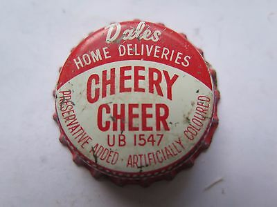 Crown Seal Bottle Cap Top Dales Home Deliveries Cheery Cheer Australia