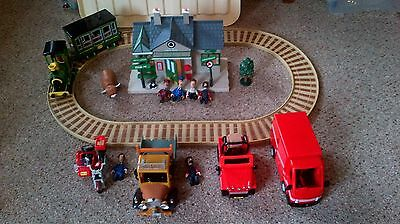 postman pat musical train and figures bundle small ted glens van