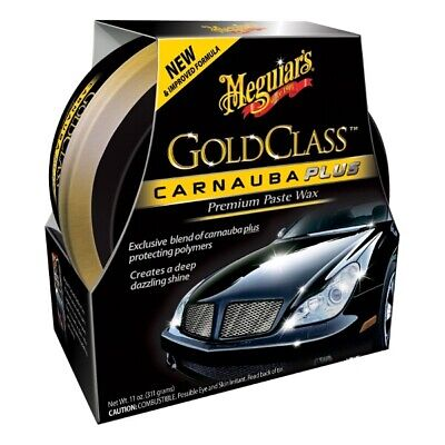 Gold Class Carnauba Paste Wax 311g Car Plus Premium New Formula - Meguiars G7014