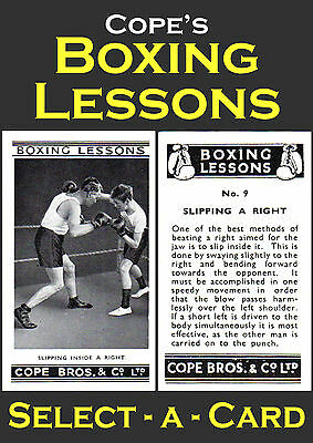 Cope's BOXING LESSONS - Select-A-Card