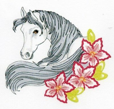 Enchanted Horses Collection - Machine Embroidery Designs On Cd