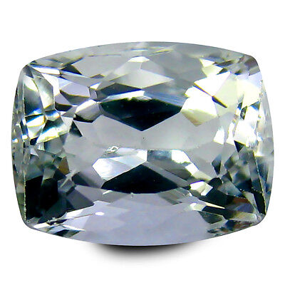 4.24 ct AAA World class Cushion Shape (11 x 8 mm) Blue Aquamarine Gemstone