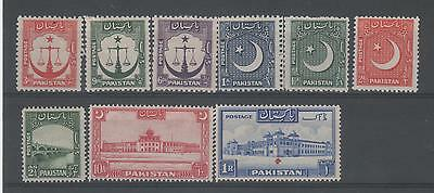 Pakistan Mint Definatives  Various To 1R (As Is)