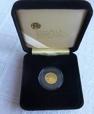 2008 Ireland €20 Gold Proof Coin UNESCO Heritage Site of Skellig Michael Rare
