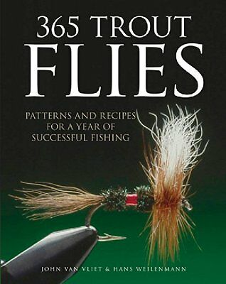 365 TROUT FLIES Fly Fishing Book @       @ New HARDCOVER! No Reserve!