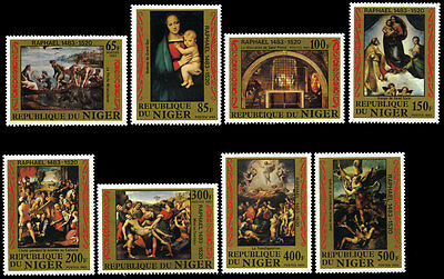 Niger 614-21 MNH - Paintings By Raphael