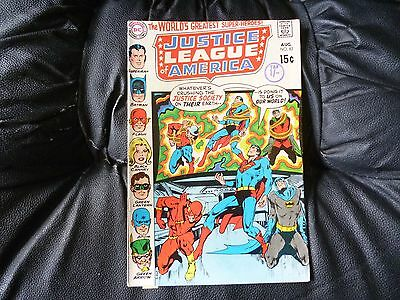 Justice League of America # 82 in very nice condition