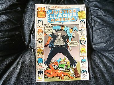 Justice League of America # 92 fairly nice condition for age Adams cover