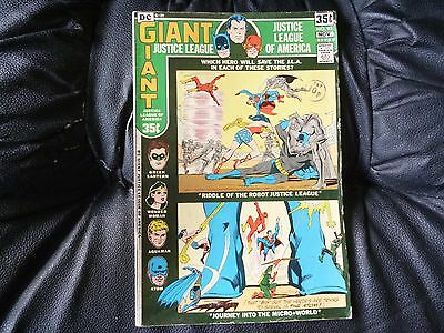 Justice League of America # 93 in very nice condition giant size reprint issue