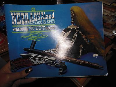 NEBRASKAland Take A Spin Where the WEST Begins 1971 travel booklet
