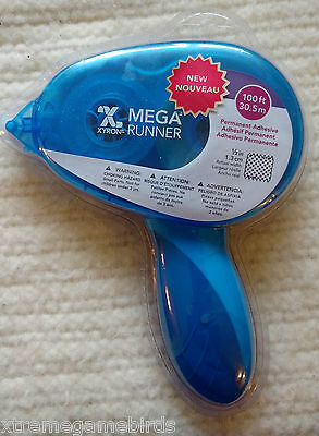 CRAFT SUPPLIES - NEW Xyron 0701-05-00 Mega Runner Permanent Adhesive Dispenser