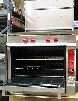 Vulcan Hart Restaurant Commercial Gas Oven, Stove, Range w Convection Oven, NEW