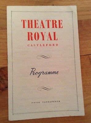 THEATRE ROYAL CASTLEFORD programme SCHOOL FOR WIVES